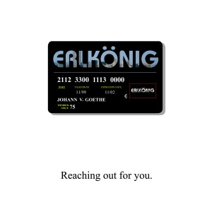ERLKONIG credit card