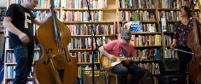 Polyorchard performance at Glenwood Community Bookshop in Greensboro, NC
